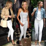 THE 3 KEY RULES TO WEARING WHITE DENIM, TAKE NOTE!