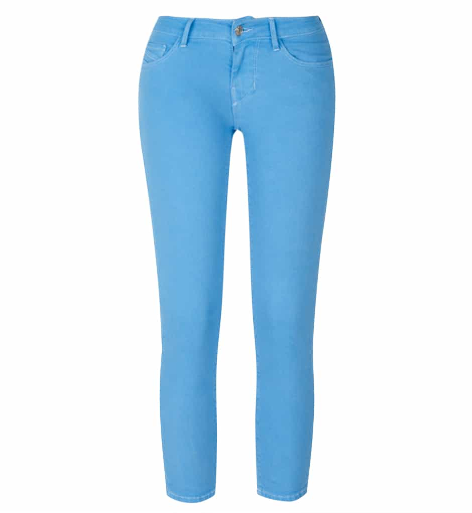 Jacky-O Skinny Crop Jeans - Turquoise Beg, Borrow or Steal £60