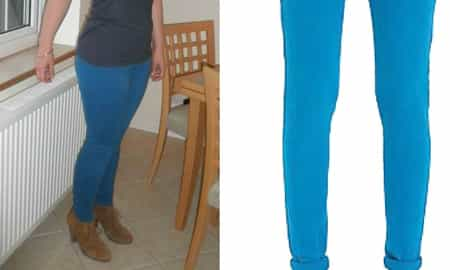 TRIED & TESTED: NEW LOOK TEAL SKINNY JEANS