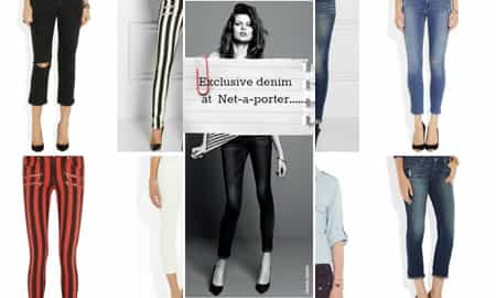 EXCLUSIVE PAIGE DENIM AT NET-A-PORTER