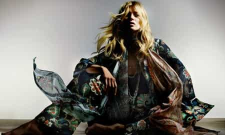GLOBAL LAUNCH KATE MOSS X TOP SHOP NOW LIVE