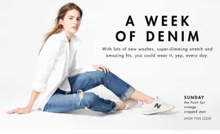 A WEEK OF DENIM ESSENTIALS @JCREW