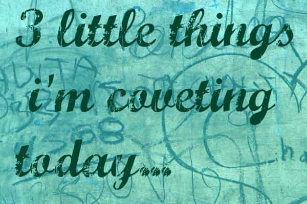 3 LITTLE THINGS…