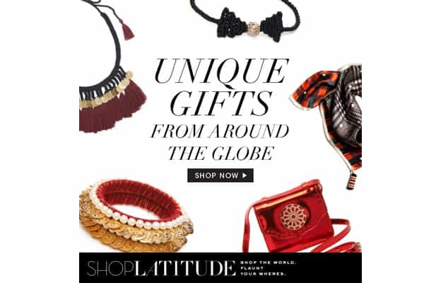 SHOP THE WORLD WITH SHOP LATITUDE