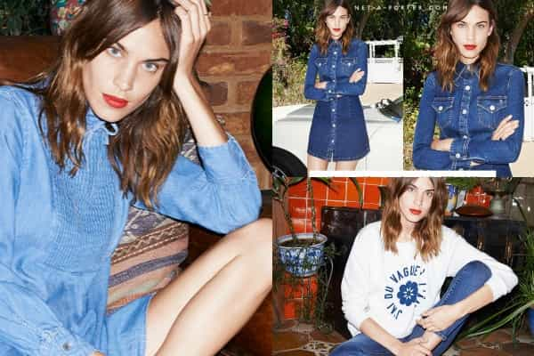 IT'S HERE ALEXA CHUNG X AG JEANS
