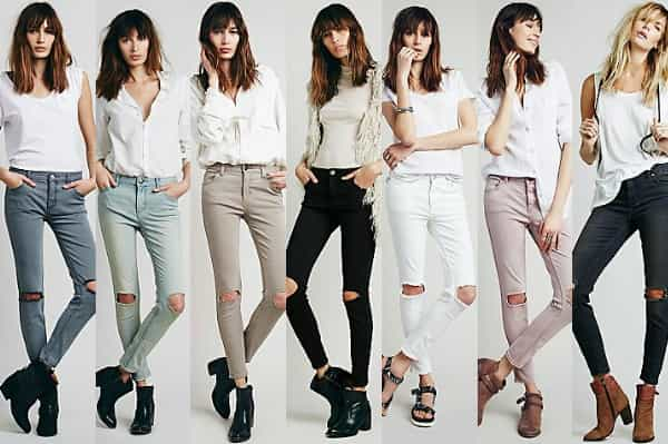 IT'S THE NO BRAINER DESTROYED SKINNY $78 @ FREE PEOPLE