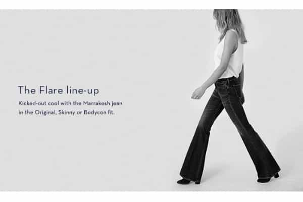 mih jeans,flares
