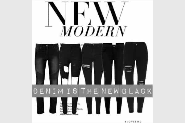 TEN BLACK JEANS UNDER $100 TO COVET