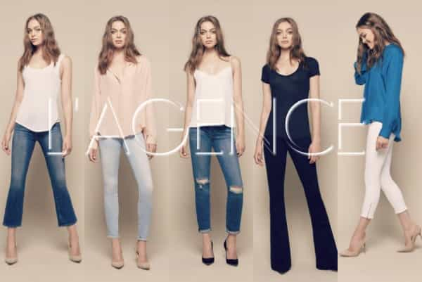 DENIM FOCUS: L'AGENCE -THE FRENCH JEAN