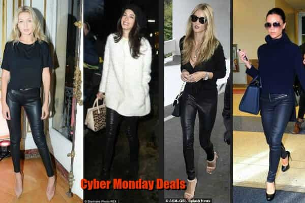 HOW TO LOVE A LEATHER PANT BARGAIN ON CYBER MONDAY
