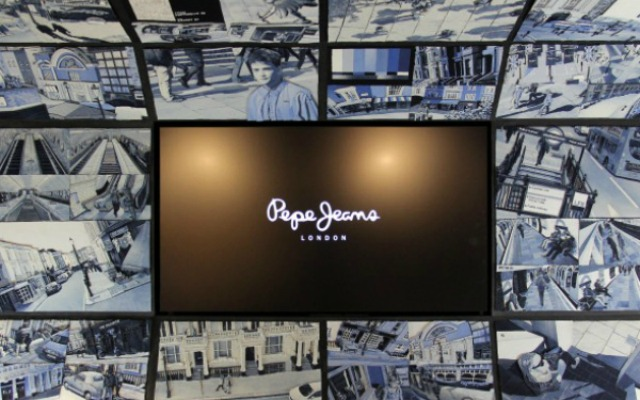 IAN BERRY X PEPE JEANS, DENIM ART INSTALLATION OPENS AT FLAG SHIP STORE