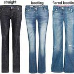 THE TEN COMMANDENTS FOR SHOPPING FOR PERFECT JEANS.