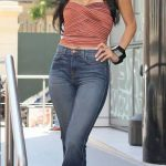 Nicole Scherzinger Looks Hot In J Brands Kiki High-Rise Promoting X Factor.