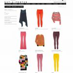 ILOVEJEANS LOVES…. NET-A-PORTER'S COLOURED DENIM & BRIGHT KNITS
