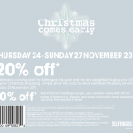 WOW WHAT A SALE! Voucher codes for 20% off Selfridges, 7 For All Mankind, Shopbop, Bloomingdales…
