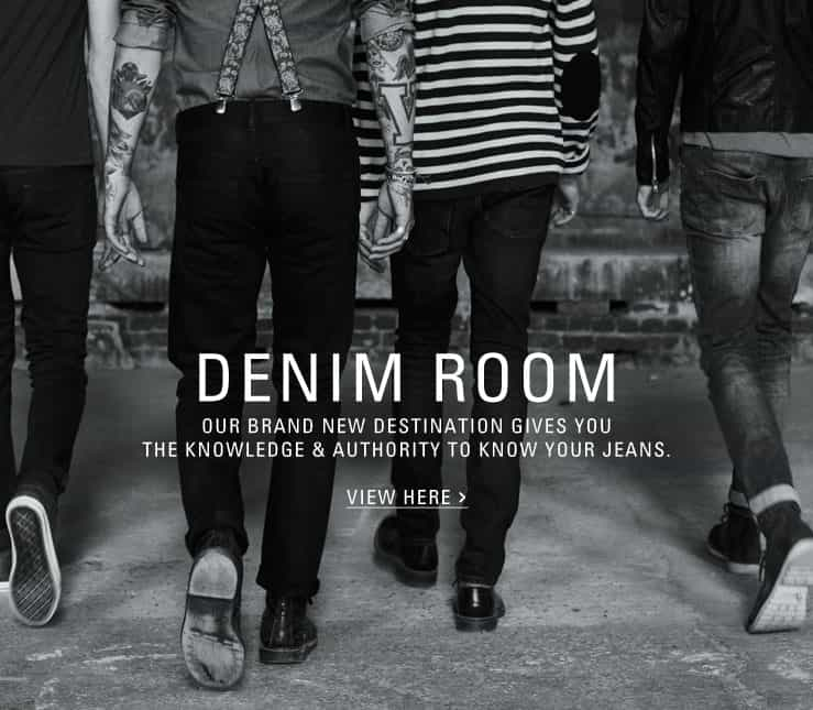 VISIT TOPMAN'S DENIM ROOM