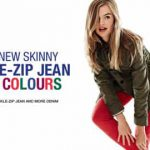 INTRODUCING THE NEW 1969 SKINNY ZIP JEAN AT GAP £44.95