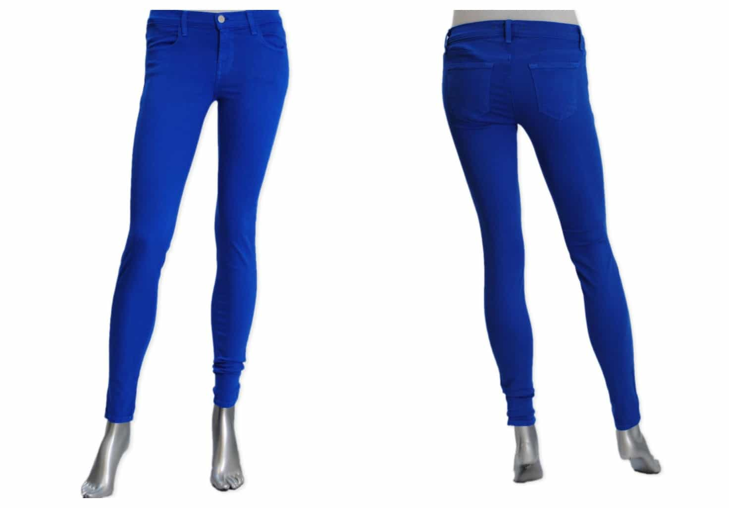 SHOP THE J BRAND 620  POWERSTRETCH SKINNY IN ELECTRIC BLUE