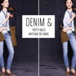 DENIM TO RELAX IN SUNDAY STYLE