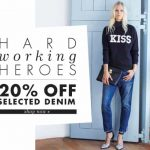 GET 20% OFF NEW SEASON DENIM AT MY-WARDROBE.COM