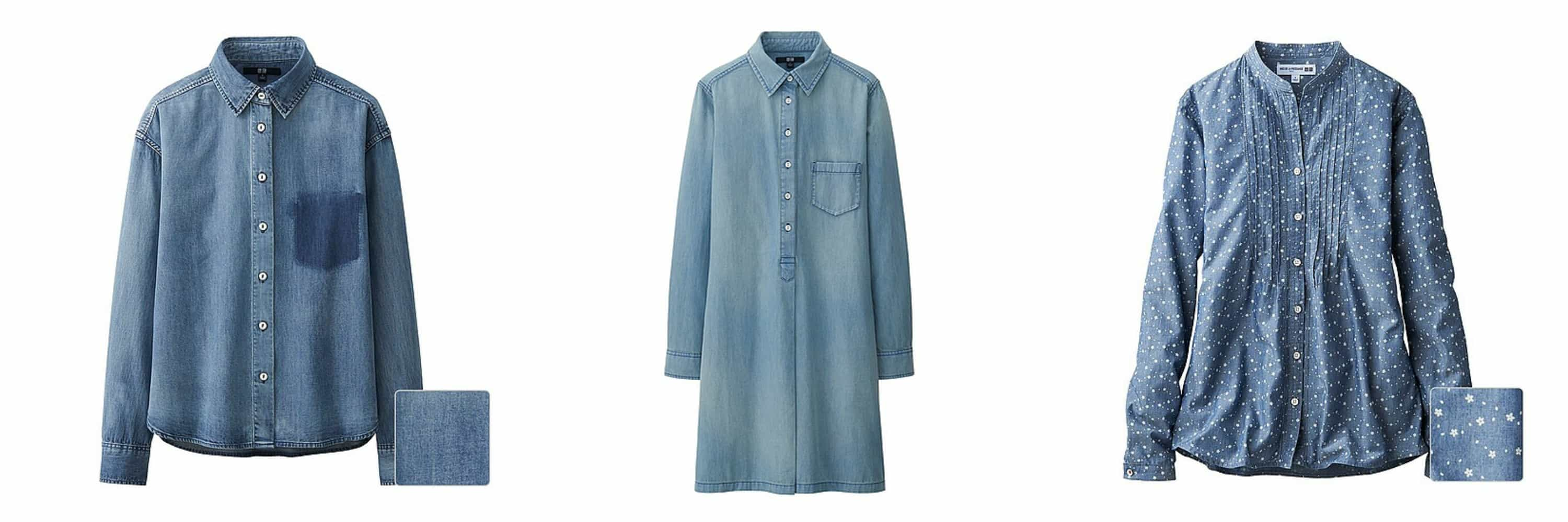 1dafe63c1d3 ... shirt dress (below) which I would belt and wear over the white selvage  jeans on a fresh Spring day and then with bare legs when the temperature  rises.