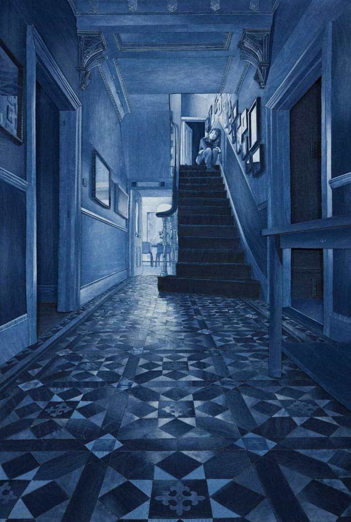 denim artist behind closed doors