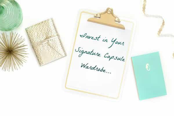 alt=signature capsule wardrobe