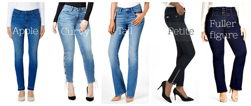 ad649b54359 Shop your body shape for perfect jeans
