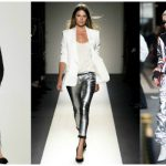 HOW TO WEAR THE SILVER COATED JEAN FROM DAY TO NIGHT