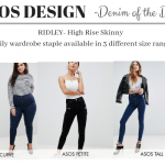 DENIM OF THE DAY – ASOS DESIGN DENIM THE RIDLEY HIGH RISE JEAN